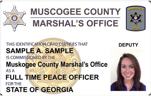 The Police and Sheriffs Press - Custom Photo ID Card
