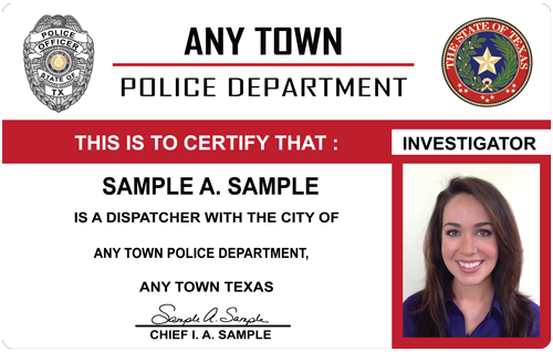 The police and sheriffs press custom photo id card pasp makes beautiful id cards check them out altavistaventures
