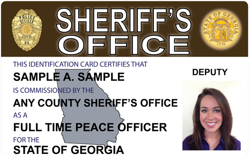 Police Designs Generic Sheriffs - The Press And