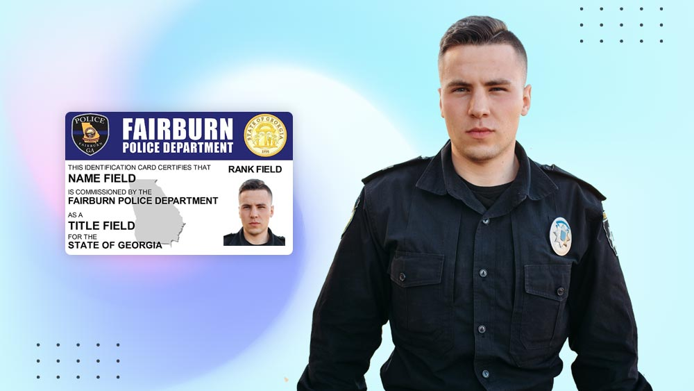 Secure Police ID Cards
